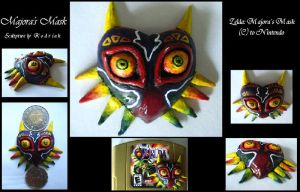 Majora's Mask by LuxDani