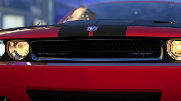 Challenger grill closeup by revsorg