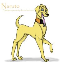 Naruto: Golden Labrador by Emergencyuseonly