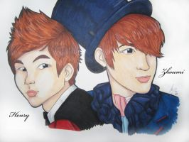 Henry and Zhoumi by chaixing