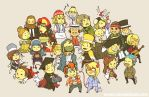 Apollo Justice Chibi Par-tay by weem