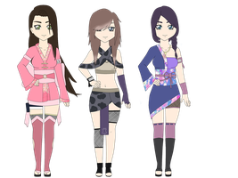 Naruto Female Adoptables #18 .CLOSED. by SicklySatisfied