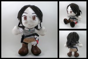 Tomb Raider - Lara Croft plushie by eitanya