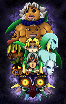 Majora's Mask. by PoroPants