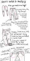 a small guide on how i draw jeans by ireniccircle