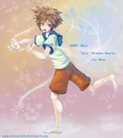 Kingdom Hearts: Sora for Alice by catzzzrule