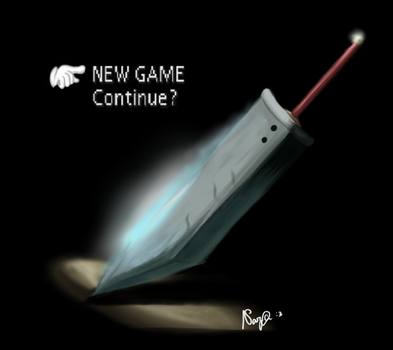 NEW GAME FFVII by Narikusha