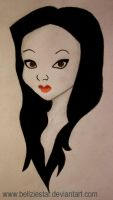 Morticia Addams by bellziestar