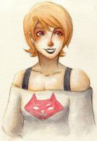 watercolour Roxy by 8BitMelonKid