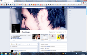 New FaceBook TimeLine Page by qitarist