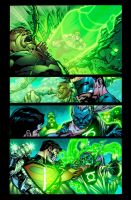 Green Lantern Corps 50 Page 15 by xXNightblade08Xx