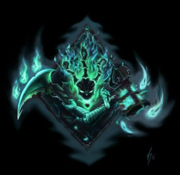 Thresh tattoo design by vitorxvr
