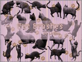 Cat Brushes by Lavica-Photoshop