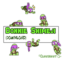 Donatello Shimeji (Download!) by Clawshawt