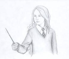 Loony lovegood by miriamartist on deviantart for Luna lovegood coloring pages