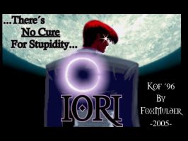 KOF 96, Iori And the Moon by foxmulder666