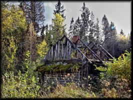Lonely little house... by Yancis