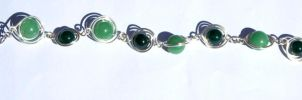 Aventurine and green jasper bracelet by 237743936