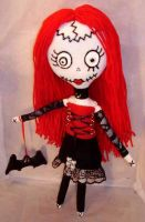 Sweet Stitches Gothic Rag Doll by jazzy1453