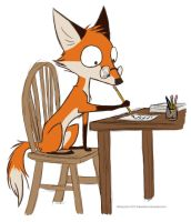 Author Fox by ThatOddFox