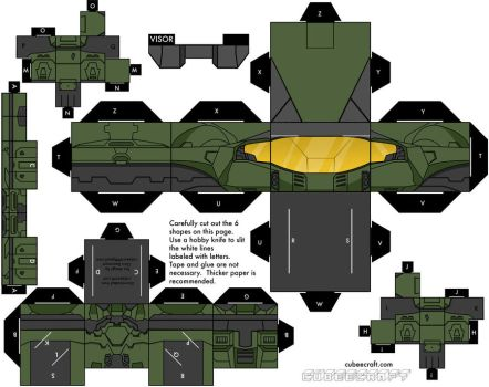 Halo 3 mark five armor by mikeyplater