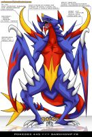 Pokedex 445 - Garchomp FR by Pokemon-FR