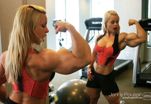 Sample352Y1111 Jenny's Muscle Surprise by areaorion