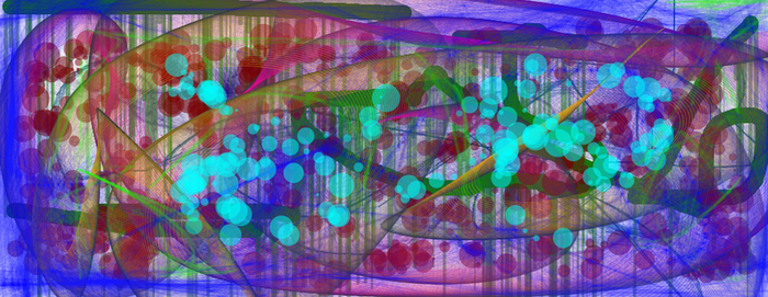 Abstract in deviantART Muro by The-Happy-Spaceman