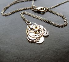 Clockwork Pendant Seventy-Two by AMechanicalMind
