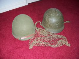 M-1 Army Helmet WWII 5 by Jan3090