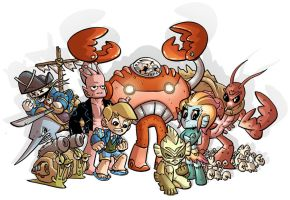 Lobster Ladd Heroes n Villains by DerekHunter