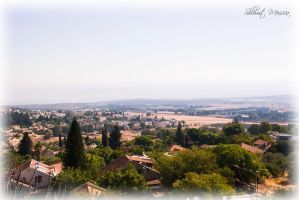 View to the Hula Valley by ShlomitMessica