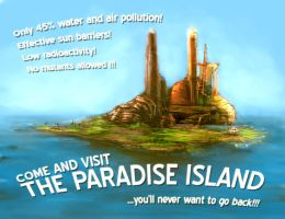 Paradise island by Redface