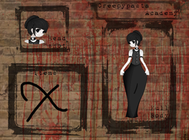 Emily app for Creepy Pasta Academy by XQueenxOfxThexDarkX