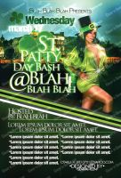 St. Patty Mock Up Flyer by OhHeyItsSK