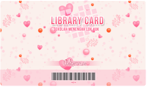 Pinky Library Card by nubpro