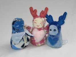 Plush Bobbles by Lithe-Fider