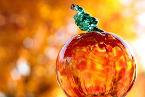 Glass Pumpkin 1 by VileYonderboy