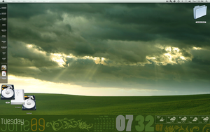 My Geektool Desktop by buzzworthy