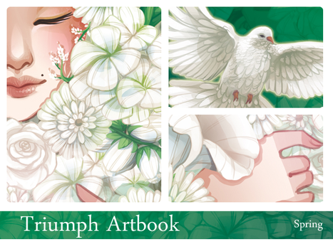 Triumph Artbook - Spring by drawingum