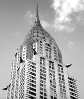 Art Deco Chrysler Building by DogHollywood