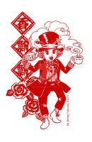 2013-02-08 Hatter Papper Cutting by amoykid