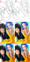 [Step by Step] - Fairy Tail (Gajevy) by yuuike