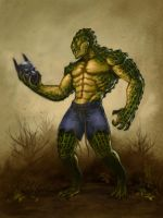 Killer Croc by luvazquez