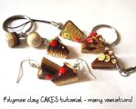 Polymer clay tutorial: CAKES! by FrozenNote