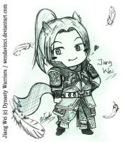 Chibi Fox Jiang Wei - Gift for 0474 by WendaVinci
