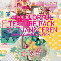 Colorful Textures Pack by Selenatorever