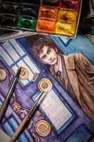 Tenth Doctor Who by amelcore