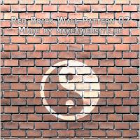 Red Brick Wall Pattern 2 by Rizl4