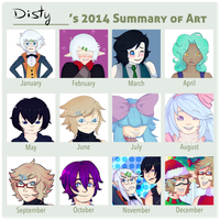 2014 Summary Of Art by Disties